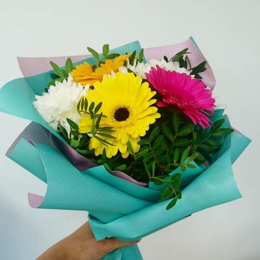 "Букет ""Подарок"": букеты цветов на заказ Flowwow"