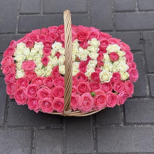 Корзинка для Мамы: букеты цветов на заказ Flowwow