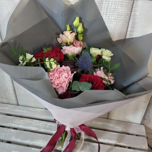 """Букет """"лучшей в мире"""": букеты цветов на заказ Flowwow"""