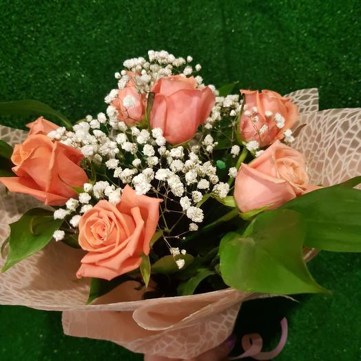 """Букет """" Анна Карина """"розы: букеты цветов на заказ Flowwow"""
