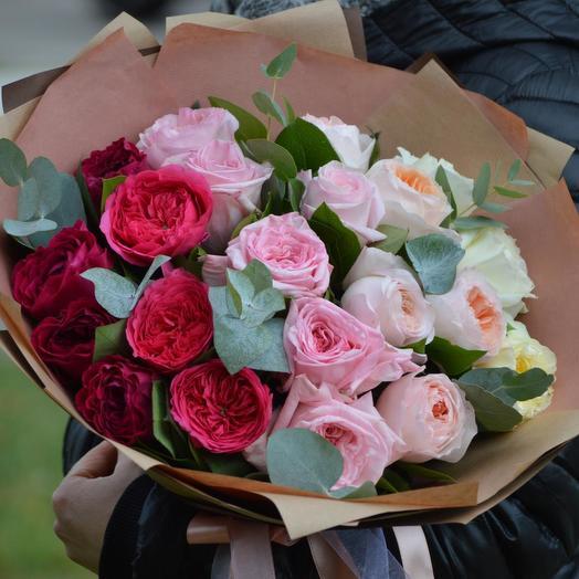 """Букет """"Цветочная палитра"""": букеты цветов на заказ Flowwow"""