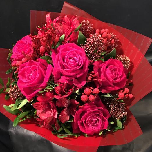 Малина: букеты цветов на заказ Flowwow