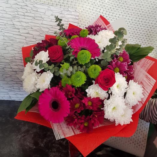 Букет ГРАЦИЯ: букеты цветов на заказ Flowwow