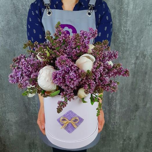 Сиреневые грезы: букеты цветов на заказ Flowwow