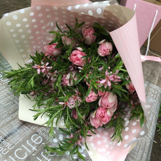 Тюльпаны 21: букеты цветов на заказ Flowwow