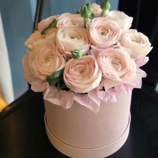 """Коробка цветов """"Облако"""""""