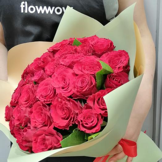 ✅ Букет красная 31 роза Хит
