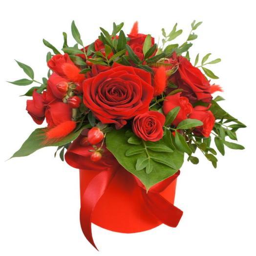 Цветы в коробке София