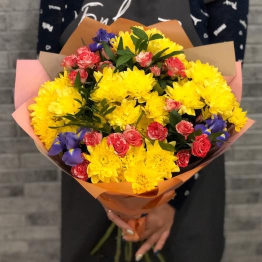 The bouquet is bright 1