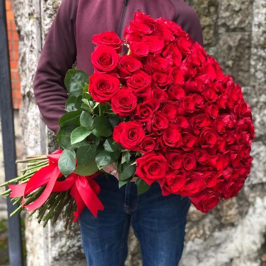 101 Роза под ленту