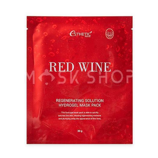 Гидрогелевая маска с экстрактом красного вина Esthetic House Red Wine Regeneration Solution Hydrogel Mask Pack