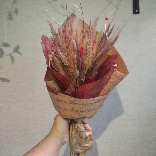 Букет с пшеницей