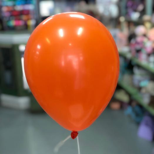 Воздушный шар оранжевый