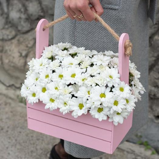 """Цветы в коробке """"Минор"""""""