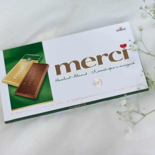 Молочный шоколад 🍫 с дробленным лесным орехом и миндалем