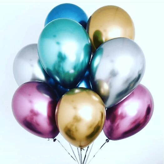 8 хром шаров