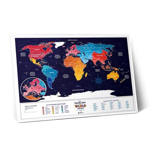 Скретч Карта Travel Map Holiday World 1DEA.ME