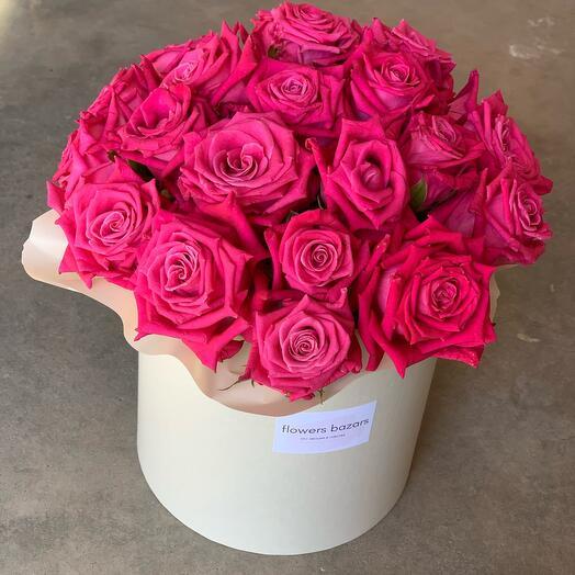 Цветы в коробке « Emma