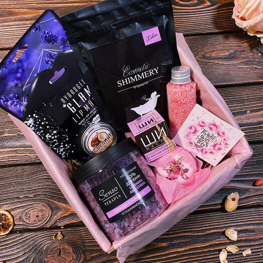 Спа Подарок девушке «Lavanda box mini