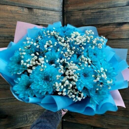 Букет Голубая мечта