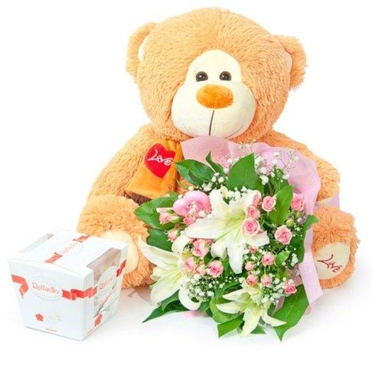 Приятный подарок: букеты цветов на заказ Flowwow