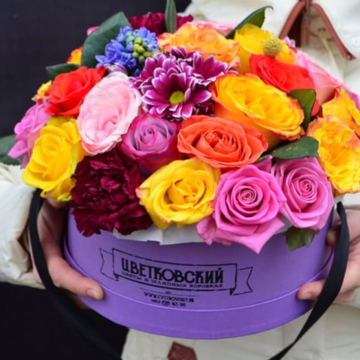 Коробочка МикСС ЦветоФФ: букеты цветов на заказ Flowwow