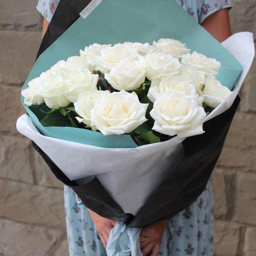 Монобукет Аваланж: букеты цветов на заказ Flowwow
