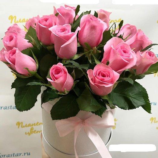 """Композиция """"Первый поцелуй"""": букеты цветов на заказ Flowwow"""