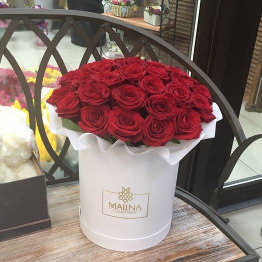 """Коробка с розами """"Особый повод"""": букеты цветов на заказ Flowwow"""