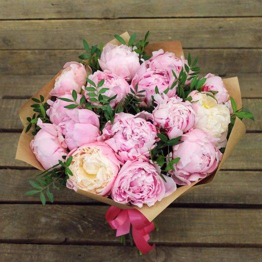 Воздушные пионы : букеты цветов на заказ Flowwow