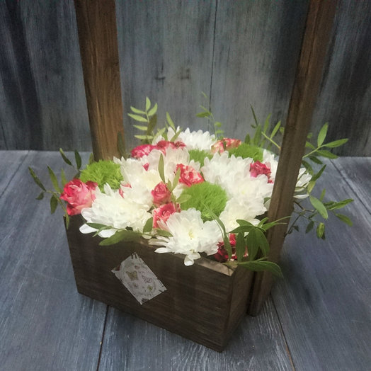 Сказочное лукошко: букеты цветов на заказ Flowwow