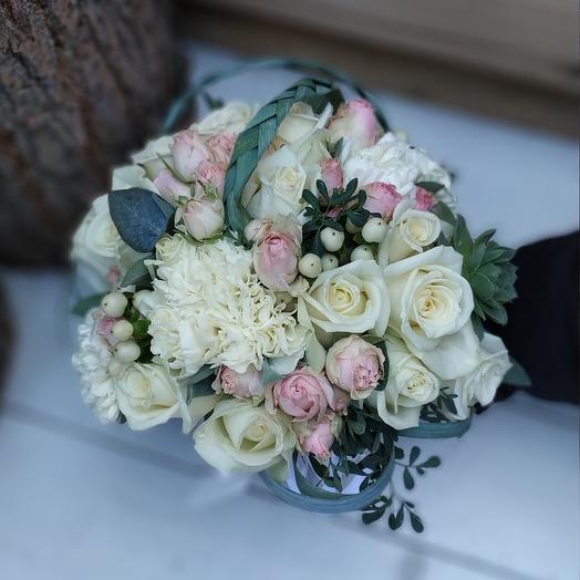 Свадебный букетик: букеты цветов на заказ Flowwow
