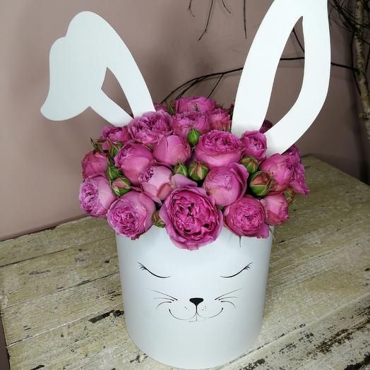 """""""Милый зайка"""": букеты цветов на заказ Flowwow"""