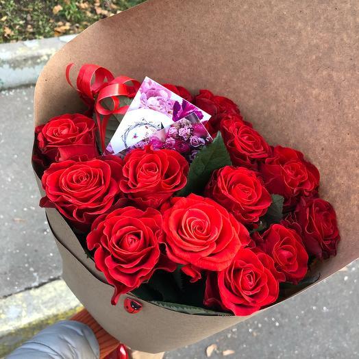 «Passion»: букеты цветов на заказ Flowwow