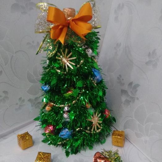 Ёлочка в подарок ручной работы: букеты цветов на заказ Flowwow