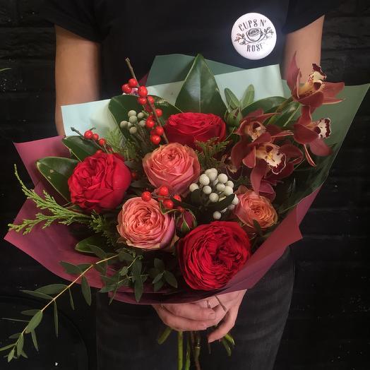 Осенние ягоды: букеты цветов на заказ Flowwow