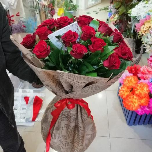 Красотка роза