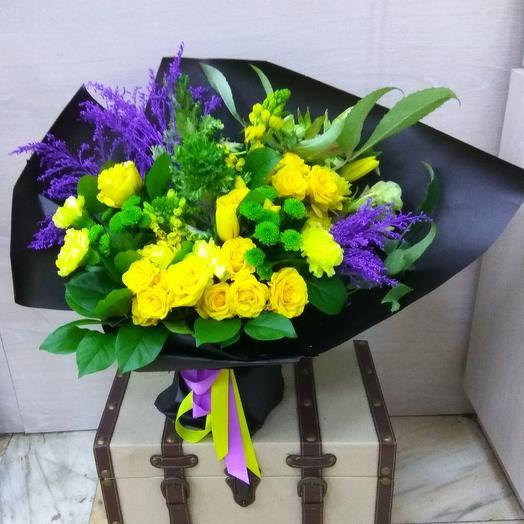 Солнечнуй путь: букеты цветов на заказ Flowwow