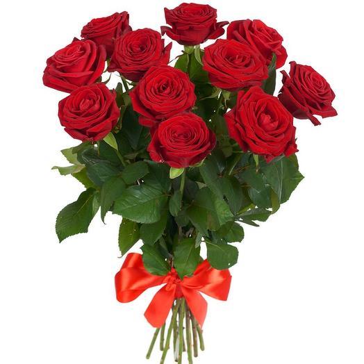 11 красных: букеты цветов на заказ Flowwow