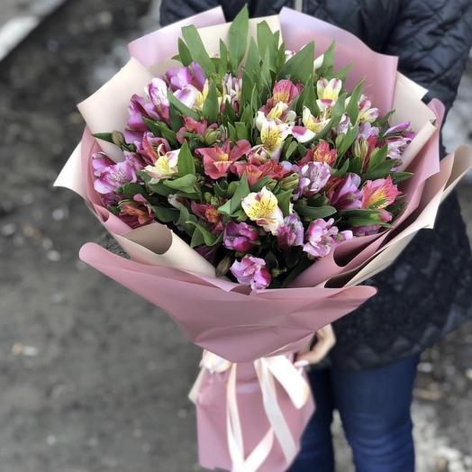 Букет 200: букеты цветов на заказ Flowwow