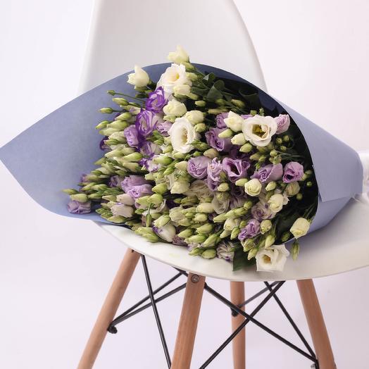 29 лизиантусов Craft: букеты цветов на заказ Flowwow