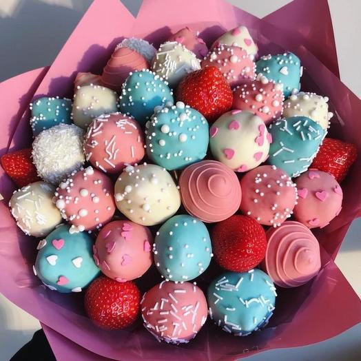 """Букет """" Bubble Gum """": букеты цветов на заказ Flowwow"""