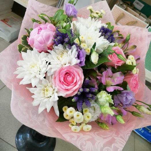 Зефирный розовый: букеты цветов на заказ Flowwow