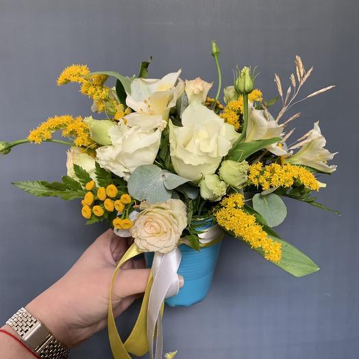 Стакан солнце: букеты цветов на заказ Flowwow