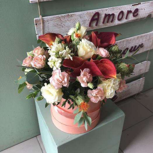 Персиковый джаз: букеты цветов на заказ Flowwow