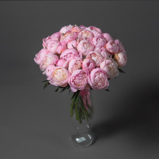 "Букет ""31 Розовый Пион"": букеты цветов на заказ Flowwow"