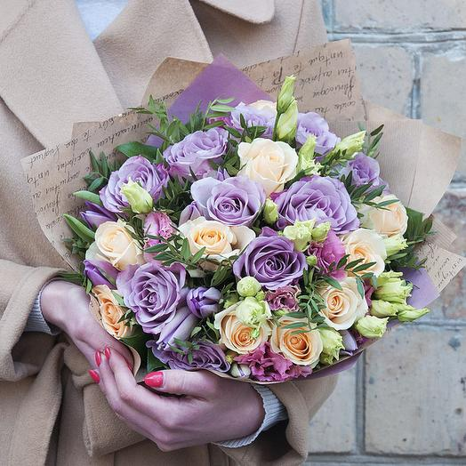 "Букет ""Софи"": букеты цветов на заказ Flowwow"