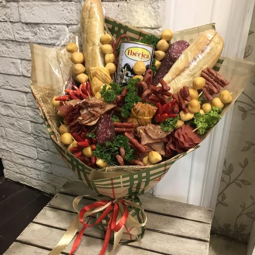 Ну очень вкусный букет: букеты цветов на заказ Flowwow