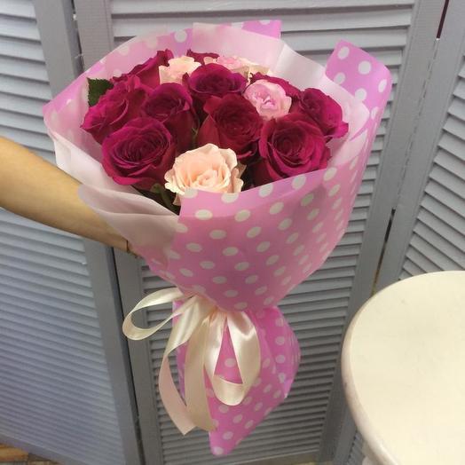 Прелесть в горошек: букеты цветов на заказ Flowwow