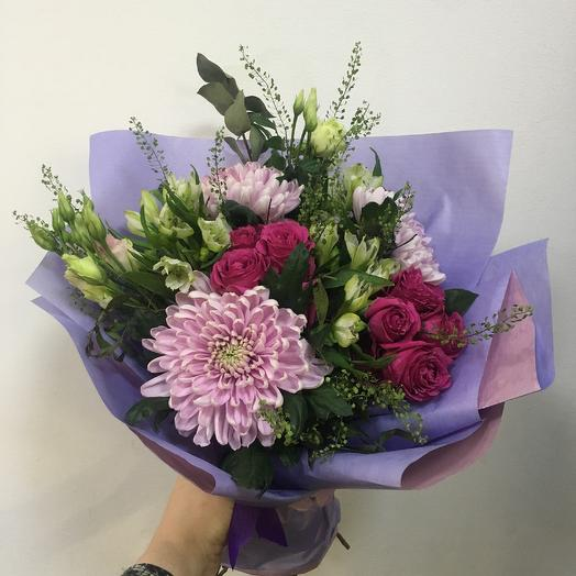 Букет «Сиреневая  дымка «: букеты цветов на заказ Flowwow